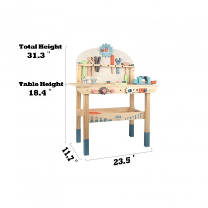 Large Wooden Engineer Tool Bench