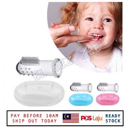 Baby Soft Silicone Finger Toothbrush